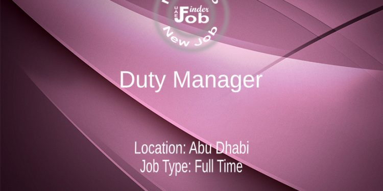 Duty Manager