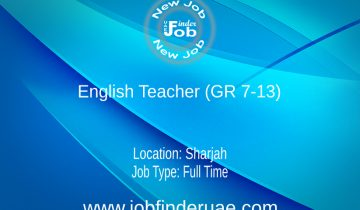 English Teacher (GR 7-13)