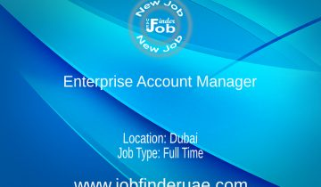 Enterprise Account Manager for MEA