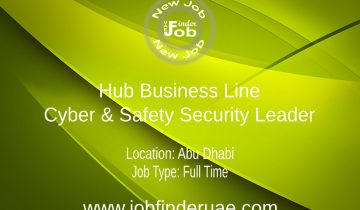 Hub Business Line - Cyber & Safety Security Leader