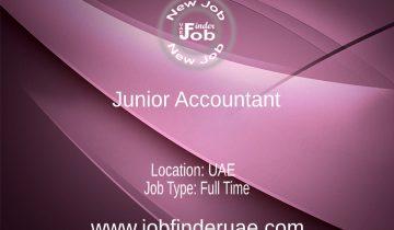 Junior Accountant