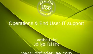 Operations & End User IT support