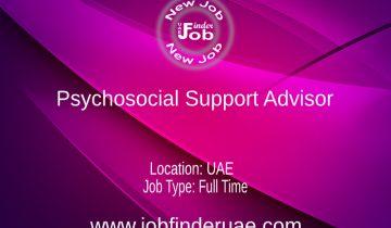 Psychosocial Support Advisor