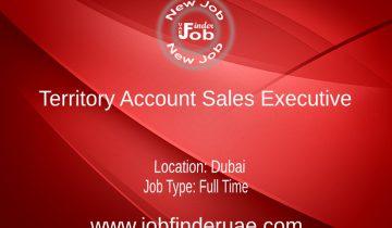 Territory Account Sales Executive