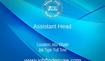 Assistant Head - Primary