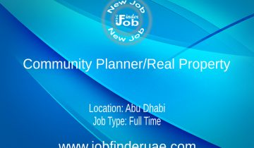 Community Planner/Real Property