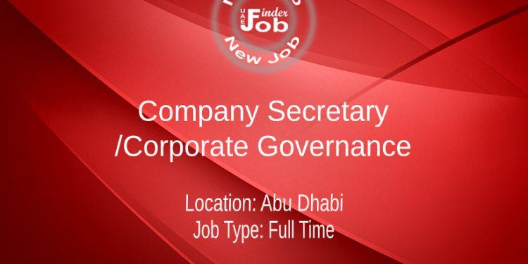 Company Secretary/Corporate Governance