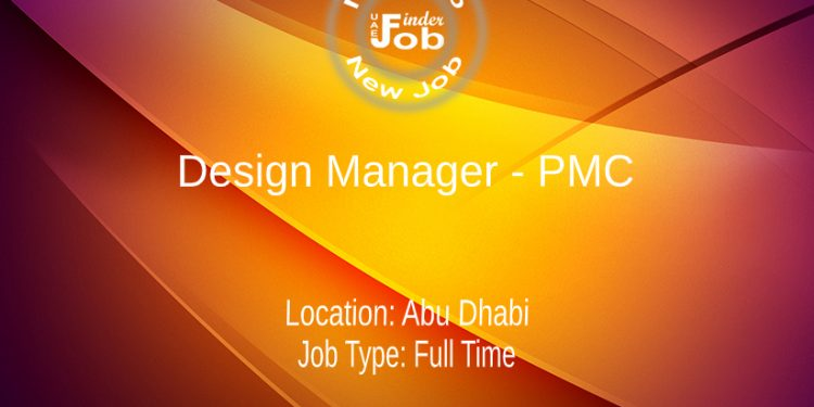 Design Manager - PMC