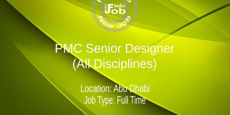 PMC Senior Designer (All Disciplines)