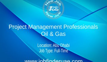 Project Management Professionals - Oil & Gas