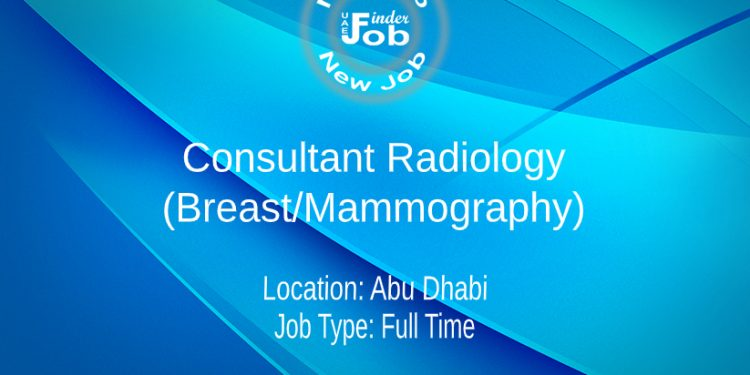 Consultant Radiology (Breast/Mammography)