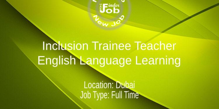 Inclusion Trainee Teacher: English Language Learning