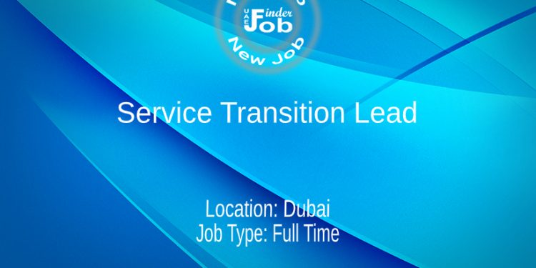 Service Transition Lead