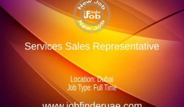 Services Sales Representative