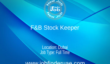 F&B Stock Keeper