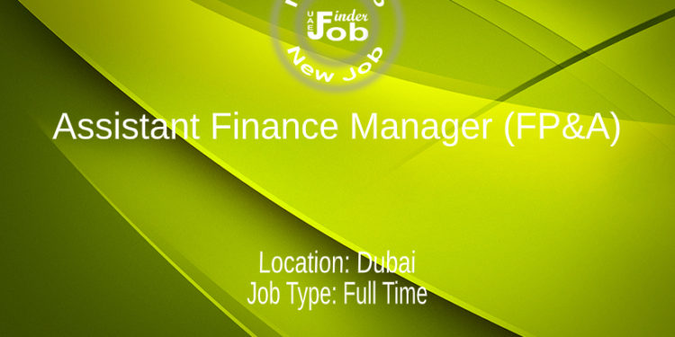 Assistant Finance Manager (FP&A)