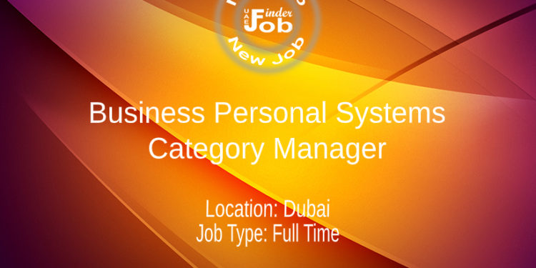 Business Personal Systems Category Manager