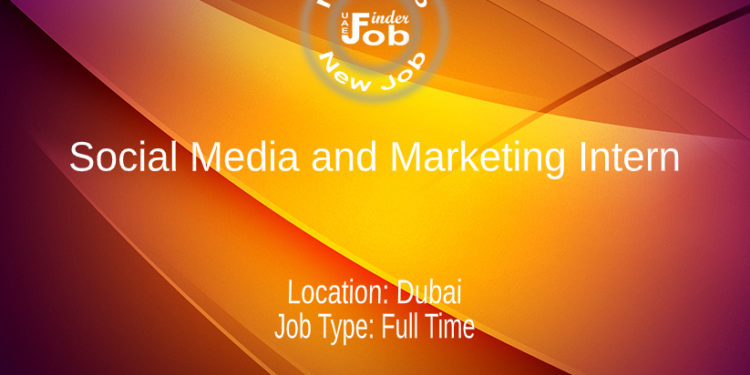 Social Media and Marketing Intern