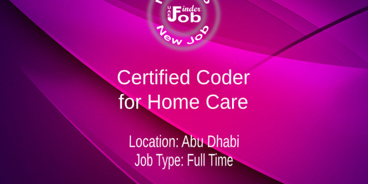 Certified Coder for Home Care