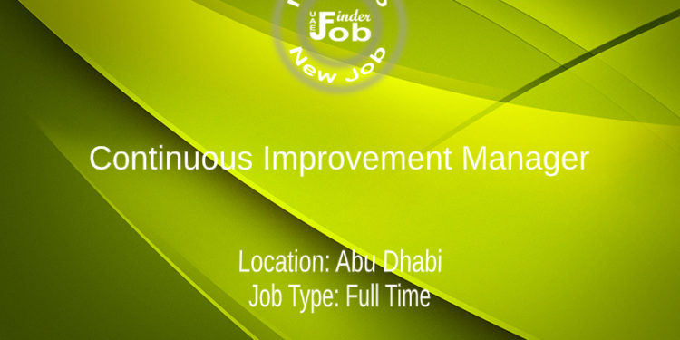 Continuous Improvement Manager