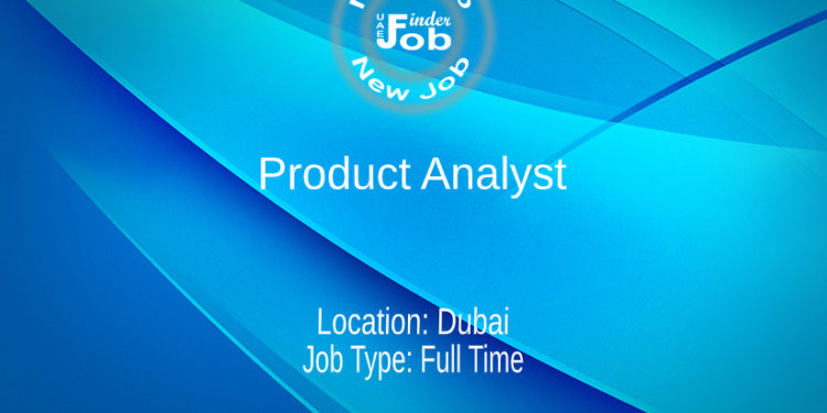 Product Analyst
