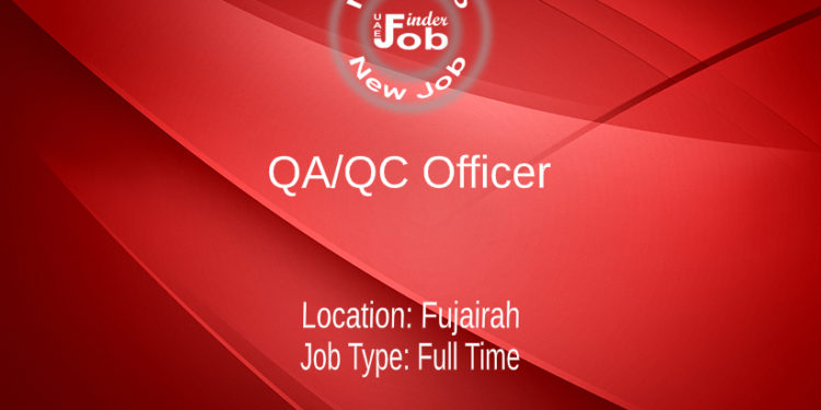 QA/QC Officer