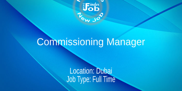 Commissioning Manager