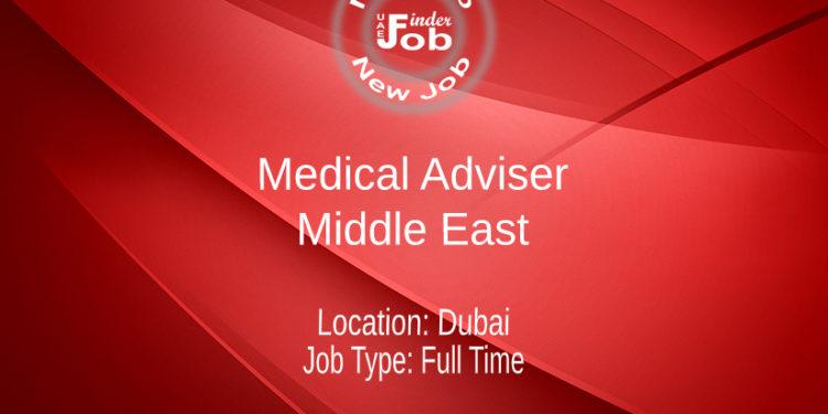 Medical Adviser - Middle East