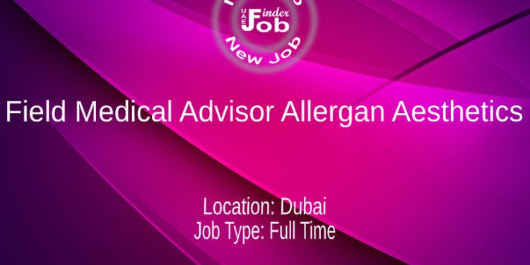 Field Medical Advisor Allergan Aesthetics