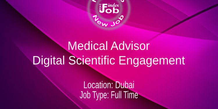 Medical Advisor - Digital Scientific Engagement