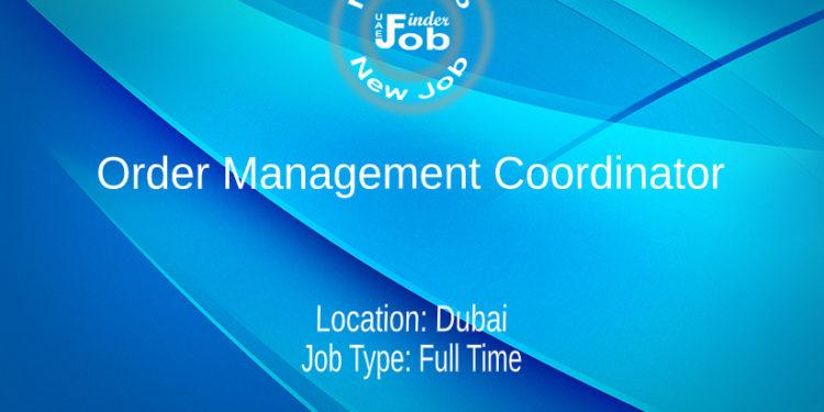 Order Management Coordinator