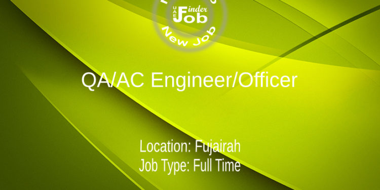 QA/AC Engineer/Officer