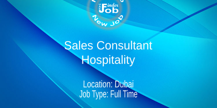 Sales Consultant - Hospitality