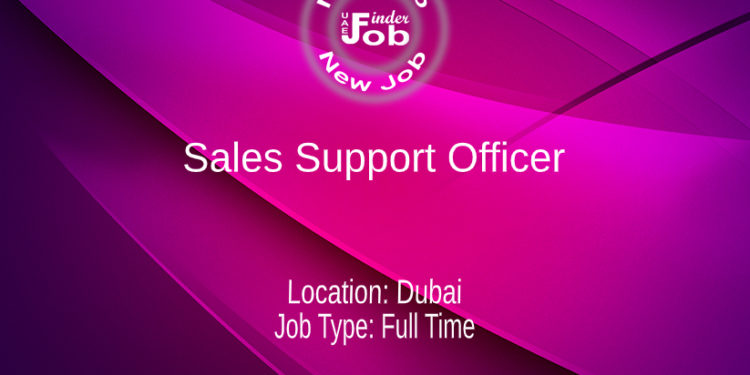 Sales Support Officer
