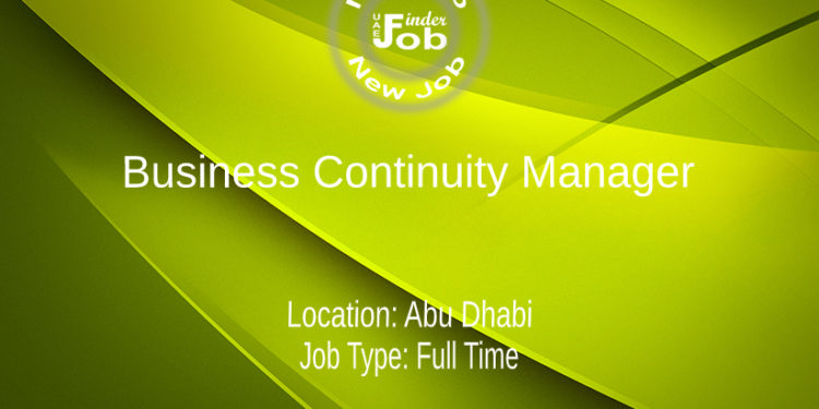 Business Continuity Manager