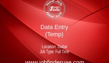 Data Entry (Temp)