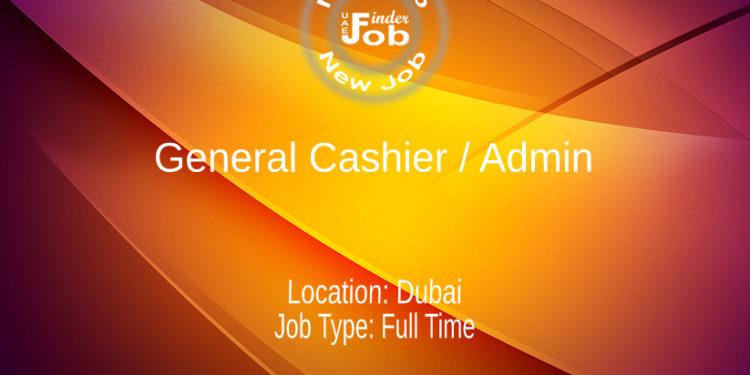 General Cashier / Admin