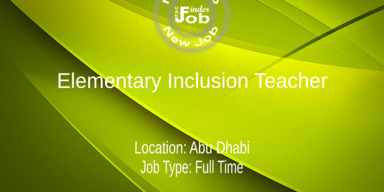 Elementary Inclusion Teacher