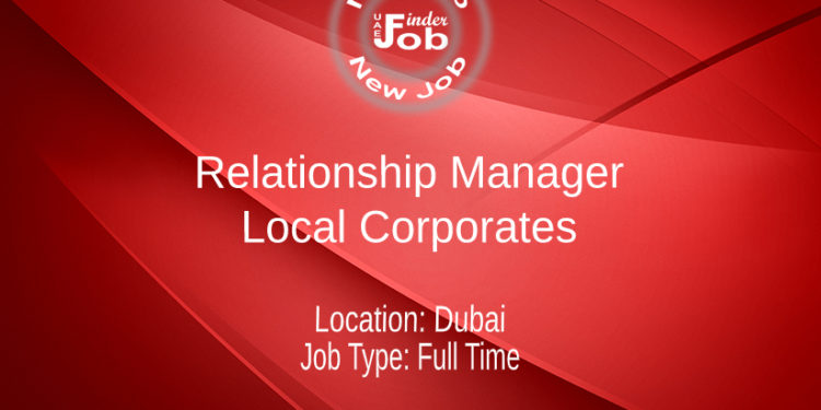 Relationship Manager – Local Corporates