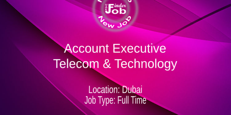 Account Executive - Telecom & Technology
