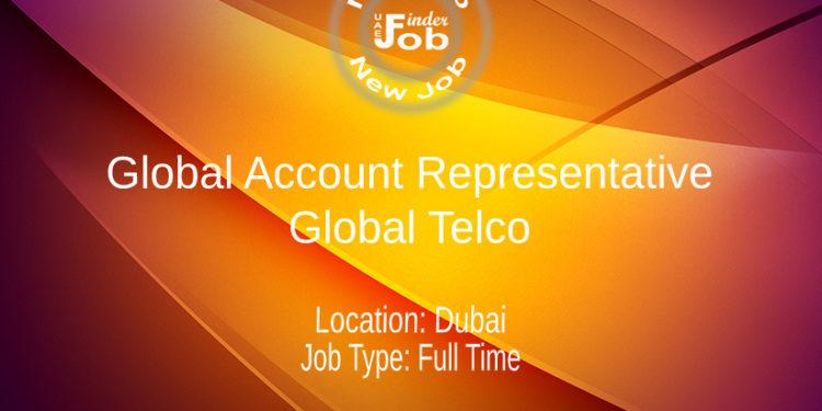 Global Account Representative - Global Telco