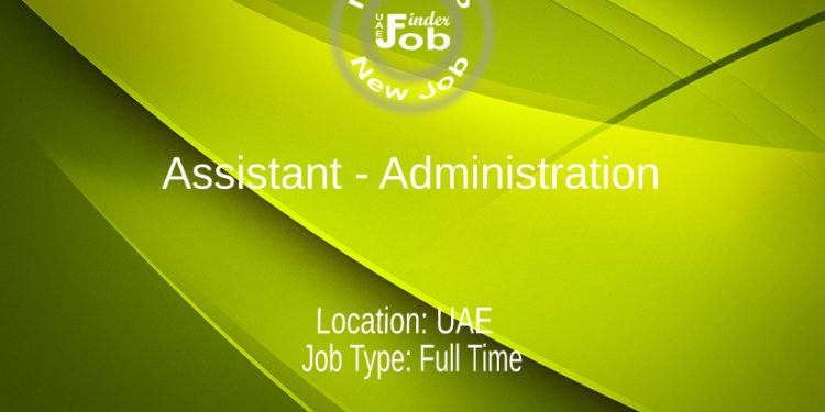 Assistant - Administration