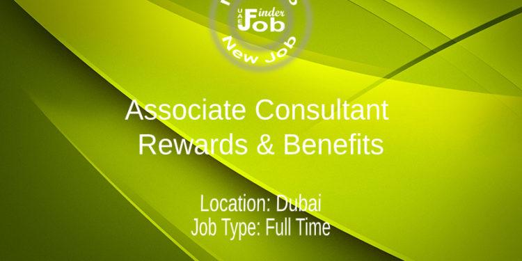 Associate Consultant - Rewards & Benefits
