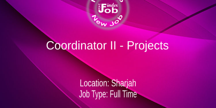 Coordinator II - Projects