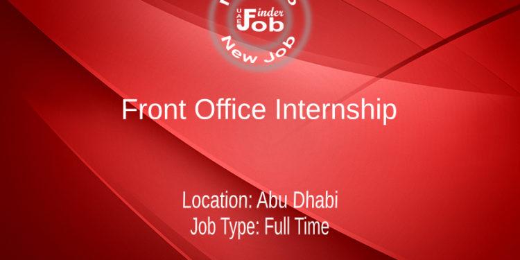 Front Office Internship