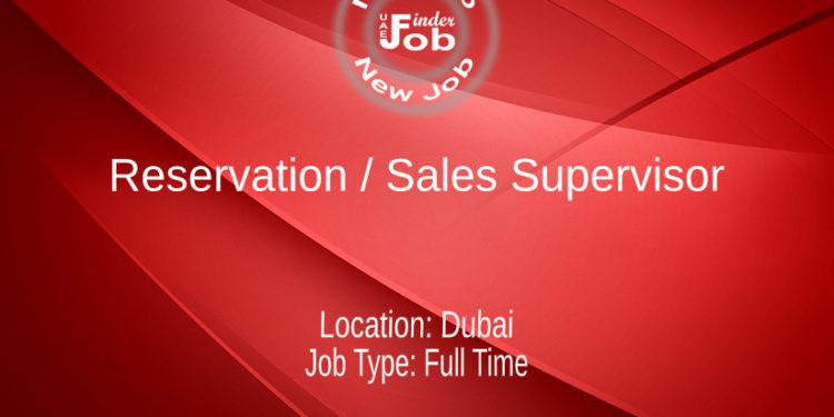 Reservation / Sales Supervisor