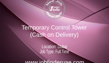 Temporary Control Tower (Cash on Delivery)