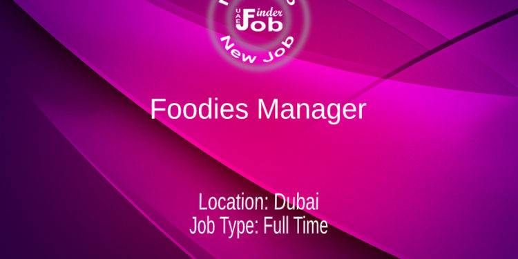 Foodies Manager
