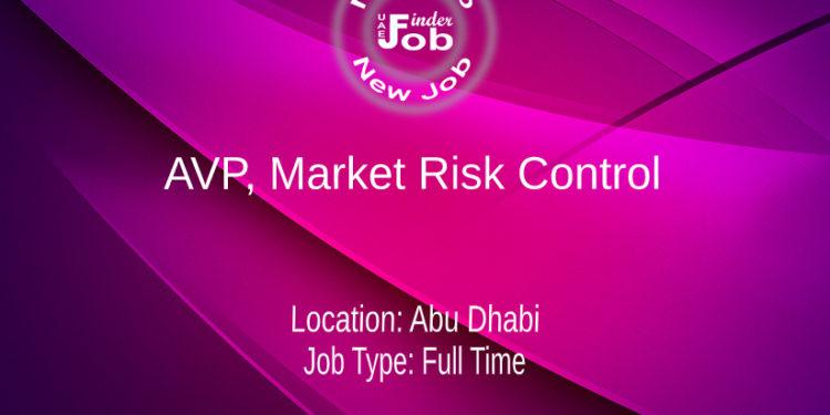 AVP, Market Risk Control
