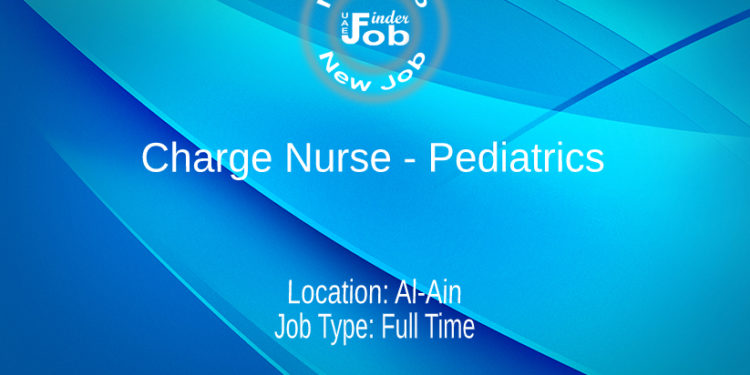 Charge Nurse - Pediatrics
